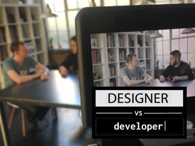 Designer Vs Developer: Creating a Collaborative Environment youtube show developer vs designer video