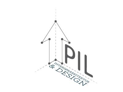Logo for company called PIL vector work vector graphics adobe illustrator branding logo design