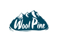 Logo experiment for a company Wool Pine