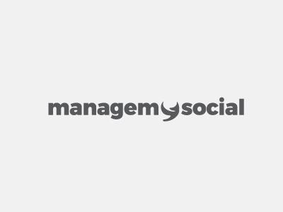 managemysocial Logo design