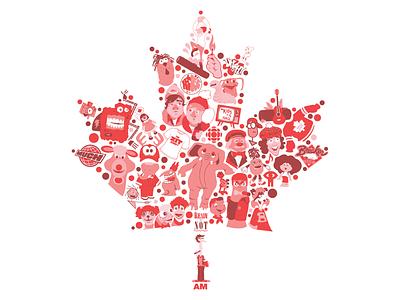 Celebrating Canada 150 leaf maple leaf canada 150 design much music ytv elephant illustration vector canada