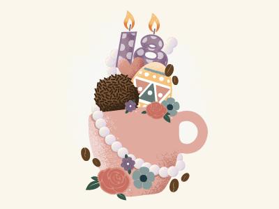 Dribbble tecup