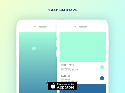 Gesture based gradients never felt so good  fun colors maker touch gradient ios