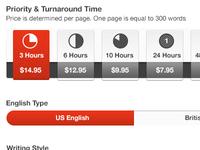 Select Turnaround Time