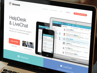 Groove Landing groove help desk live chat