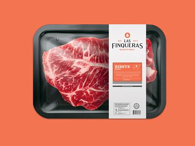 Las Finqueras badge bell brandidentity puerto rico meat packaging logotype monogram logo branding