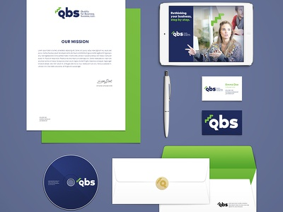 Brand identity concepts for Qbs welovedesign ilustration dribbblers puertorico business branding graphicdesign design