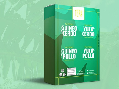 Packaging design for Productos Tere