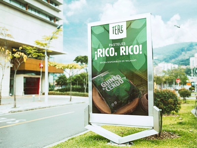 Ad concepts for Productos Tere