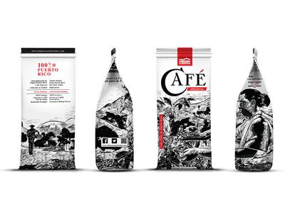 Packaging design for El Mesón Sándwiches