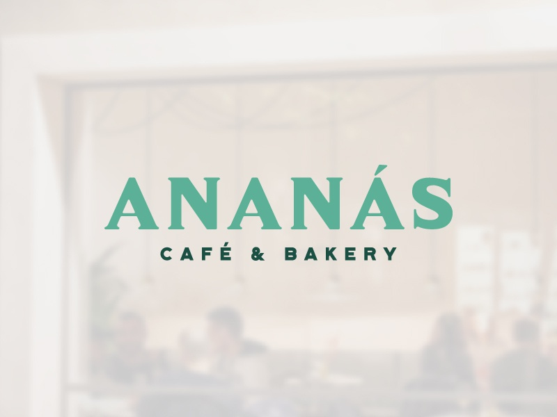 Ananás Café & Bakery restaurant cafe puerto rico dribbblers design business brandidentity ilustration welovedesign puertorico logotype logo graphicdesign branding