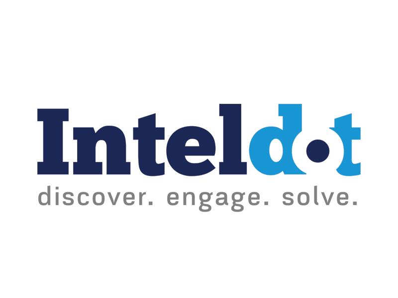 Inteldot illustration puerto rico dribbblers design business brandidentity ilustration welovedesign puertorico logotype graphicdesign logo branding