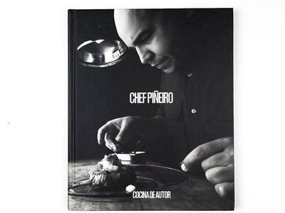Editorial design for book Chef Piñeiro welovedesign puertorico book editorial design