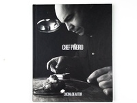 Editorial design for book Chef Piñeiro