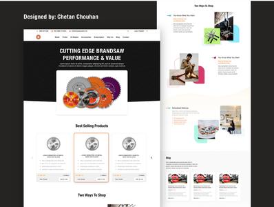 Blade website layout landing page landingpage funnel layout website design web design webdesign website