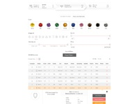 Diamond search page with colored stones