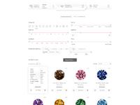 Diamond search grid view