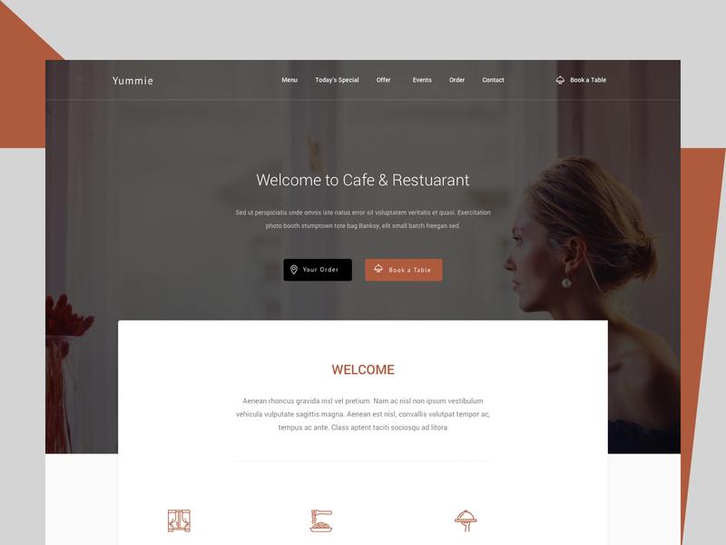 Restuarant home page