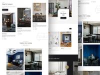Updated version of furniture website