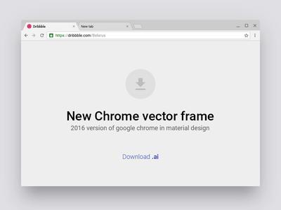 New Chrome vector frame by Eugene Podgorny - Dribbble