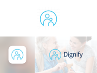 Dignify   Dribbble   Logo