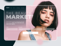 Beauty app easy to use picker marketplace beauty product concept ui design app trandy concept design clean ui ui  ux concept beauty design clean