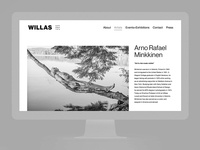 Willas Contemporary Identity — Web
