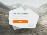 Sign Up Overlay