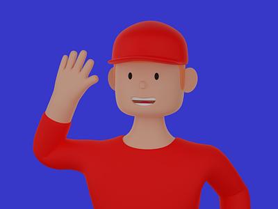 Ilustration S7 graphic design 3d character design 3d ilustration 3d