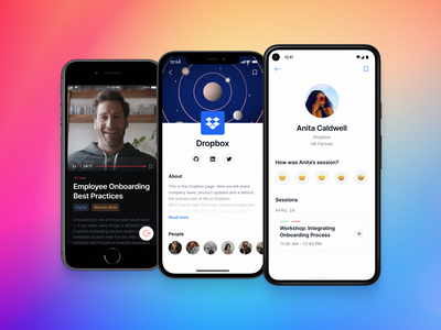 🤝 Networking app mobile app visual ui ux product interaction design