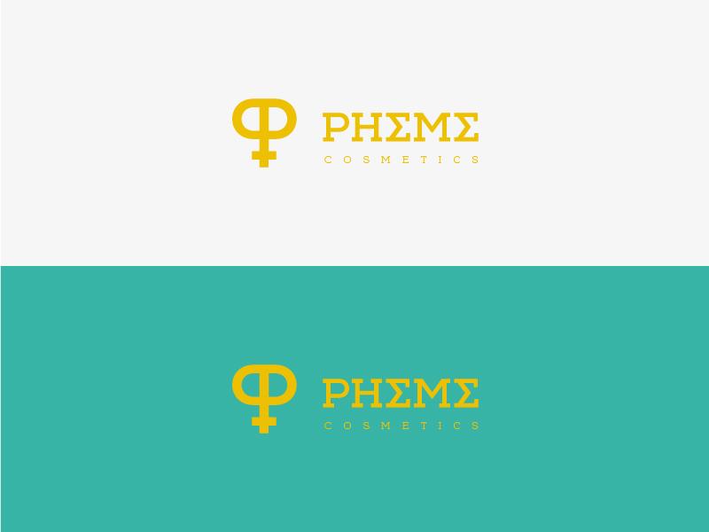 Pheme Cosmetics Logo by Emanuele Abrate on Dribbble
