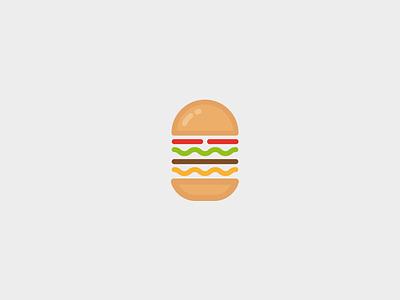 Burger icon logo graphic design food hamburger icon burger