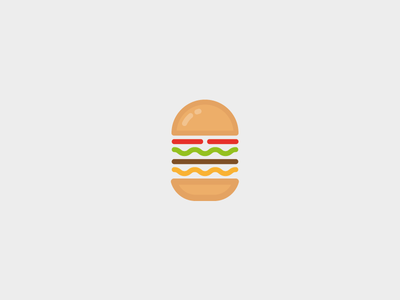 Burger icon logo graphic design food hamburger icon burger