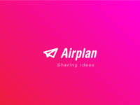 Airplan logo design