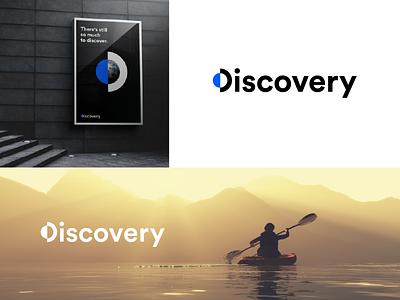 Discovery - Logo Redesign d logo lettermark redesign discovery channel discovery logotype logo design logo