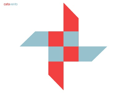 catavento identity logo design branding