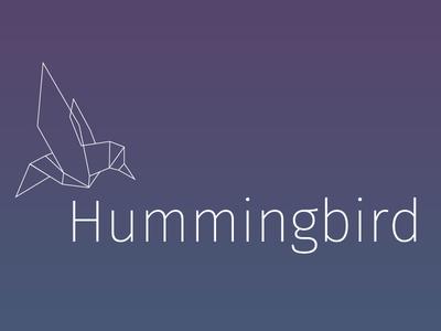 Hummingbird detail branding ux ui