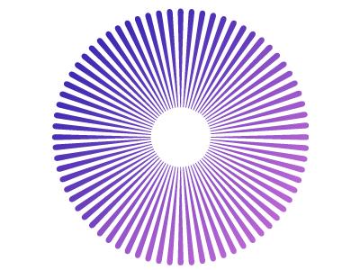 Purple infographic data visualisation ux ui