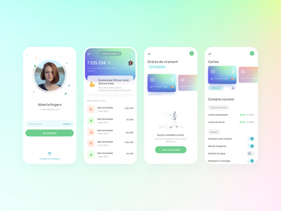 Bank challenge banking app uimobile ui challenge ban