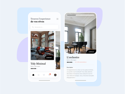 Location mobile design app mobile