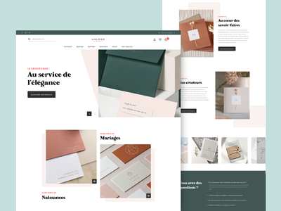 Announcement website graphic epure luxury luxe lux elegant headline homepage website webdesign web vector uidesign design ui