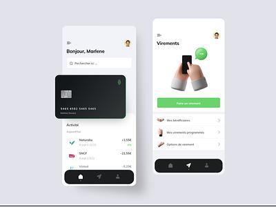 Bank app ios design mobile bank home banking app app banking ban