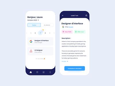 Job app mobile app