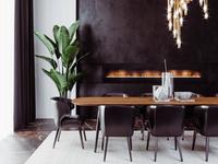 minimalistický interiér flat modern minimalist design interior