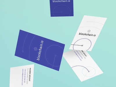 Blockchain.io Business Cards ico ethereum bitcoin design print stationery business card crypocurrency blockchain
