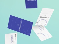 Blockchain.io Business Cards