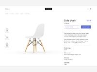 Monoqi concept product page mxmc io