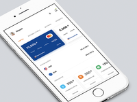 Concept of a banking app 55/90
