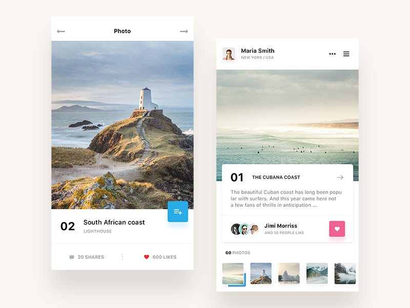 Traveling app ios flat network social design iphone traveling mobile white ux ui