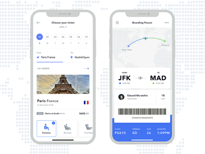 boarding passes white ux ui tickets plane passes mobile ios history flight boarding air